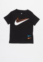Nike - Nike swoosh sport style short sleeve tee - black