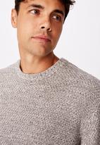 Cotton On - Crew knit - grey