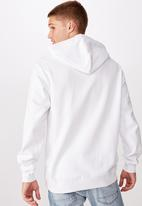 Cotton On - Coke boxed collab fleece pullover - white