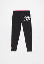 Nike - Nike girls sportswear legging - black