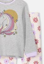 Cotton On - Edith long sleeve pj set - multi