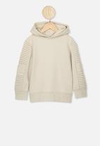 Cotton On - Moto hoodie - beige