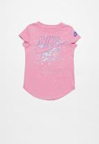 Nike - Futura regrind short sleeve scoop tee - pink