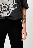 Cotton On - High waisted legging - black