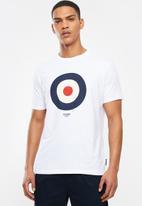 Ben Sherman - Target tee - white