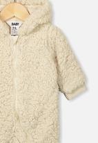 Cotton On - Archie all in one - dark vanilla
