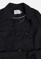 JUNAROSE - Newtukka trench coat - black