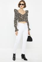 Glamorous - Puff sleeve blouse - multi