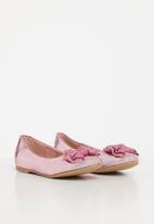 Rock & Co. - Nora metallic pump - pink