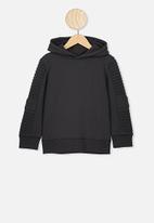 Cotton On - Moto hoodie - black