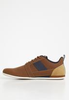 ALDO - Nydaecie laced men casual shoes - brown