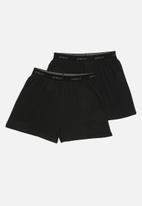 Superbalist - 2-Pack kris boxers - black