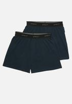 Superbalist - 2 Pack kris boxers - navy