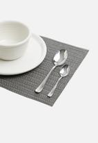 Humble & Mash - Flow placemat - gun metal