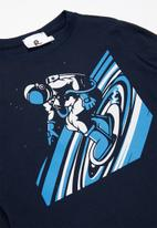 Rebel Republic - Boys space tee - navy