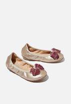 Cotton On - Primo ballet flat - gold