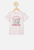 Cotton On - Lux short sleeve tee - crystal pink