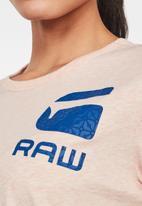 G-Star RAW - Gyre dial tee - pink