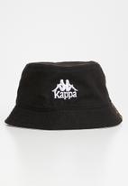KAPPA - Sporty bucket hat - black