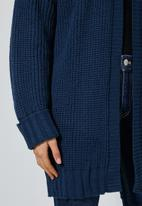 Superbalist - Chunky knit cardi - navy