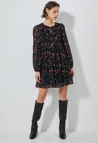 Superbalist - Chiffon babydoll dress - multi