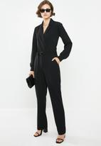 Jacqueline de Yong - Bahati long sleeve jumpsuit - black