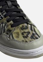 adidas Originals - Continental 80 - core black / metal grey / signal green