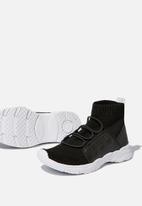 Cotton On - Knit trainer - black