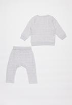 Cotton On - Scout & rory quilted tracksuit - grey