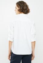 Jacqueline de Yong - Renna long sleeve shirt - cream