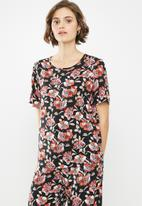 Jacqueline de Yong - Starr life short sleeve top - multi
