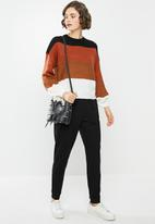 ONLY - Emy long sleeve pullover - multi