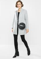 Vero Moda - Brush 3/4 length jacket - grey
