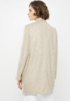 Vero Moda - Brush 3/4 length jacket - beige