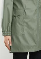 ONLY - Emma raincoat - green