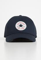 Converse - Can converse chuck patch curve brim hat - navy