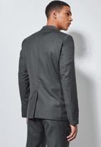 Superbalist - Soho slim fit blazer - grey