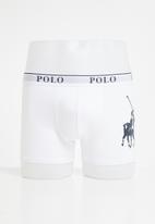 POLO - Ellis big pony knit boxer - white