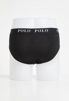 POLO - Classic knit briefs 3 pack - multi