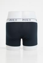POLO - Ellis big pony knit boxer - navy
