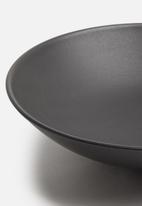 Urchin Art - Coal serving bowl - charcoal