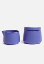 Urchin Art - Crissy creamer set - blue