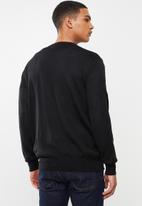 Pringle of Scotland - Peter round neck knit - black