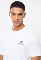 Ben Sherman - Essential tee crew - white