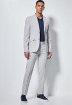 Superbalist - Regent slim fit trousers - grey
