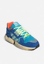 adidas Originals - ZX Torsion - bright cyan / linen green / blue