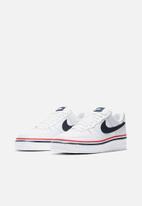 Nike - Air Force 1 '07 LV8 - white / obsidian-habanero red