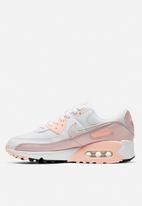 Nike - Air Max 90 - white / platinum tint-barely rose