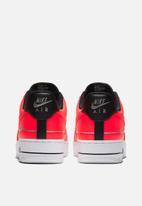 Nike - Air Force 1 '07 - laser crimson-black-white