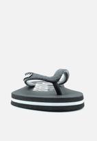 Plakkie - Plakkie flip-flop - kelly black & white